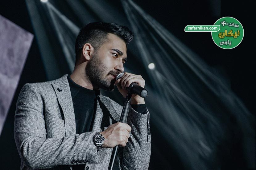 کنسرت علی یاسینی در کیش